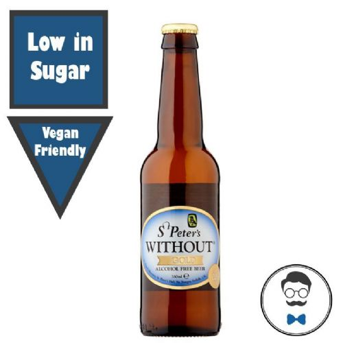 St Peters Without® Alcohol Free Gold Ale (0% ABV)